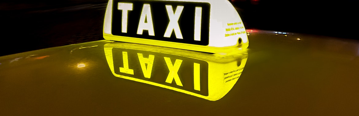 John B's Taxi and Private Hire banner